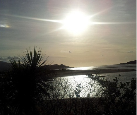 21st of January - took a trip to raglan in the evening. Pretty as always